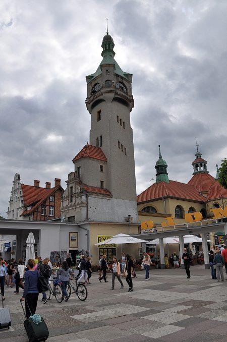 Turm beim Kurhaus in Zoppot (Foto: Martin Dühning)
