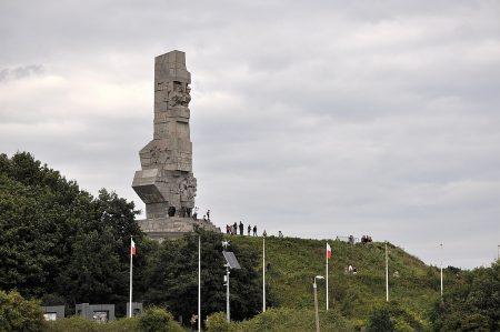 Polnisches Kriegsdenkmal auf der Westerplatte bei Danzig (Foto: Martin Dühning)