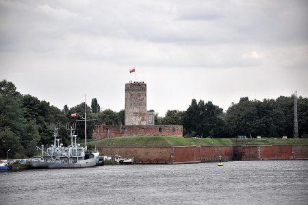 Ein Teil der historischen Hafenbastion von Danzig (Foto: Martin Dühning)
