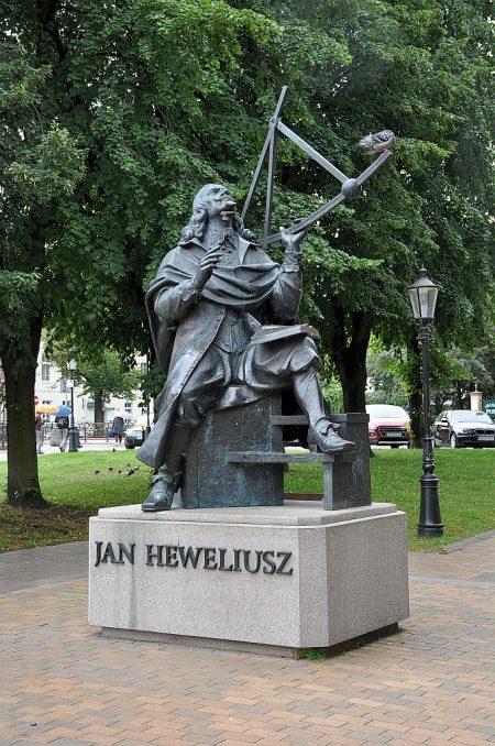 Denkmal zu Ehren von Johannes Hevelius beim Altstädtischen Rathaus (Foto: Martin Dühning)