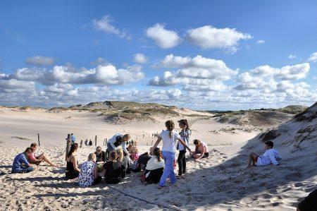 Kollektiver Halt im Sand (Foto: Martin Dühning)