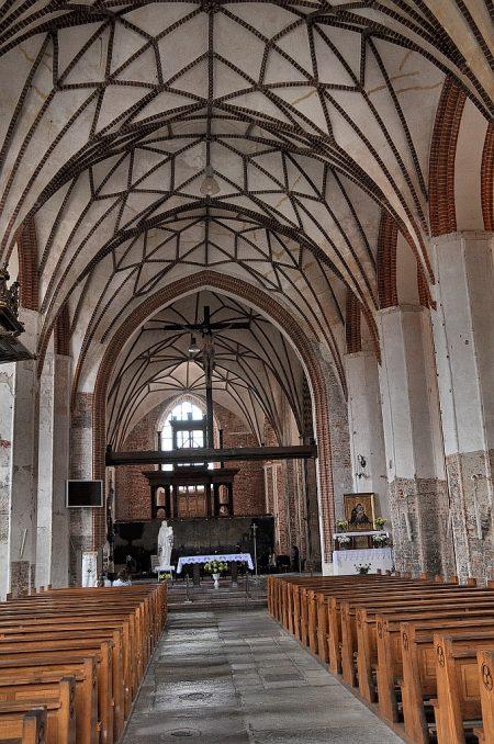 Hauptschiff der Katharinenkirche in Danzig (Foto: Martin Dühning)