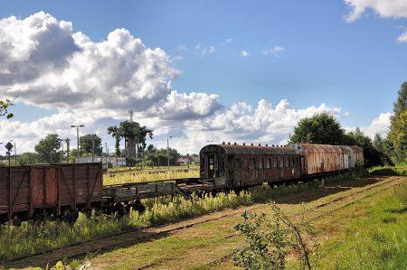 Rostige Eisenbahnidylle in Berent (Foto: Martin Dühning)