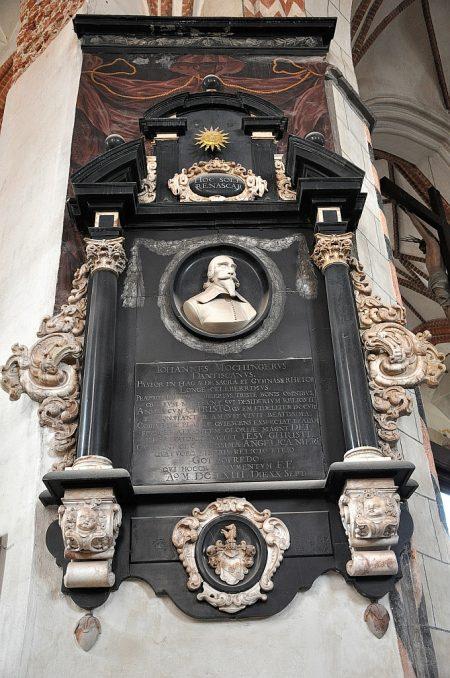 Epitaph zu Ehren von Johannes Mochinger (Foto: Martin Dühning)