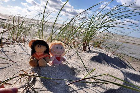 Zweisamkeit am Sandstrand (Foto: Martin Dühning)