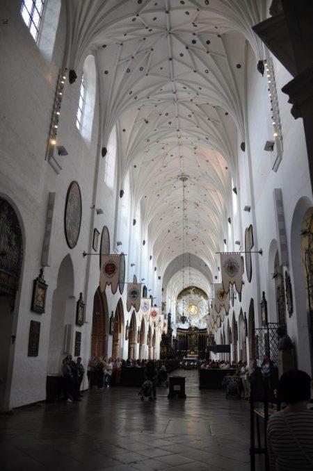 Hauptschiff der Basilika der Kathedrale St. Trinitatis in Oliva (Foto: Martin Dühning)