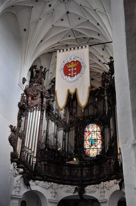 Hauptorgel der Kathedrale von Oliva (Foto: Martin Dühning)