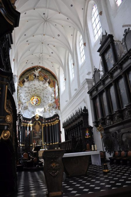 Chor der Kathedrale in Oliva (Foto: Martin Dühning)