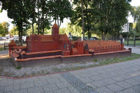 In der Stadt Malbork gibt es auch ein Miniaturmodell der Marienburg (Foto: Martin Dühning)