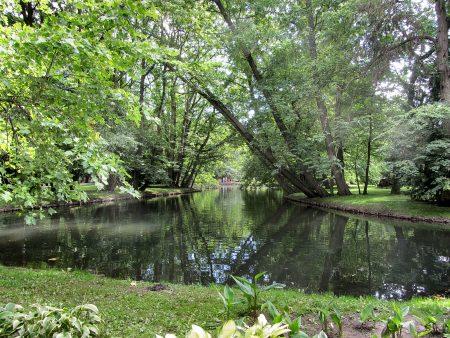 Im Schlosspark von Oliva (Foto: Salome Leinarkunion)