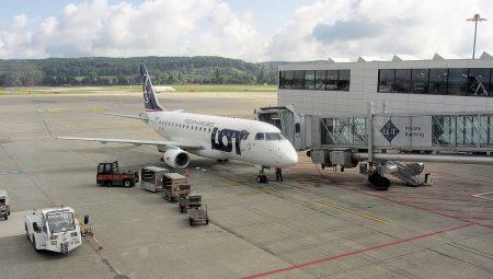 Start der Reise am Flughafen Zürich-Kloten (Foto: Martin Dühning)