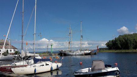 Hafen von Trzebiezy (Foto: Martin Dühning)