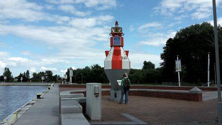 Boje im Hafen von Ueckermünde (Foto: Martin Dühning)