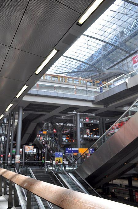 Labyrinth des Berliner Hauptbahnhofs (Foto: Martin Dühning)