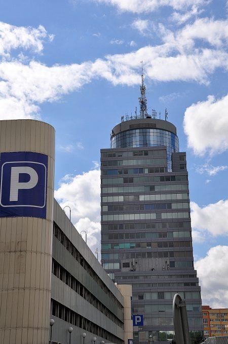 Ansicht auf den PAZIM-Hochhauskomplex (Foto: Martin Dühning)