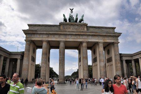 Das Brandenburger Tor am Samstag, den 20. August 2016 (Foto: Martin Dühning)