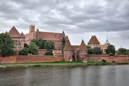 Teilansicht der Marienburg in Malbork (Foto: Martin Dühning)