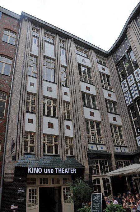 Eine weitere Jugendstilfassade bei den Hackeschen Höfen in Berlin (Foto: Martin Dühning)