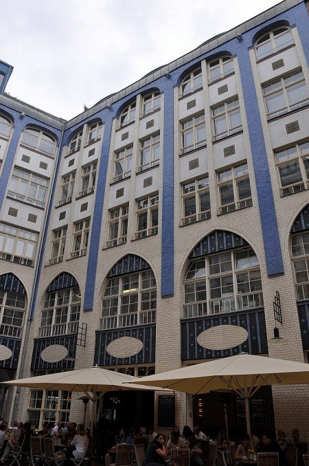 Noch eine Jugendstilfassade (Foto: Martin Dühning)