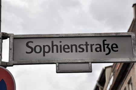 In der Sophienstraße im Berliner Osten (Foto: Martin Dühning)