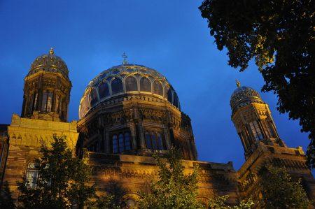 Fassade der großen Berliner Synagoge (Foto: Martin Dühning)