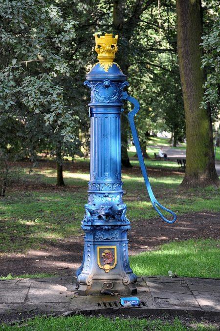 Ein Stettiner Hydrant (Foto: Martin Dühning)