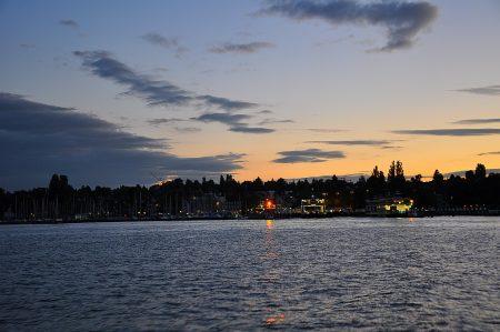Der Konstanzer Hafen naht (Foto: Martin Dühning)