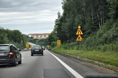 Straße von Gdansk nach Gdynia (Foto: Martin Dühning)