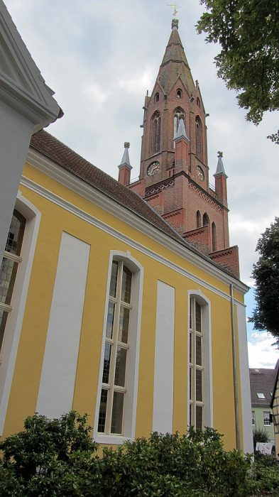 Barocke Marienkirche in Ueckermünde (Foto: Salome Leinarkunion)