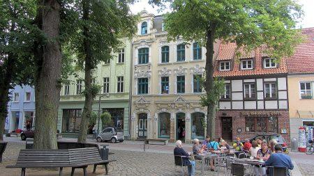 Altstadt von Ueckermünde (Foto: Salome Leinarkunion)