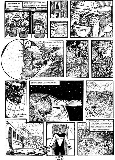 "Faller im Weltraum: Ausschnitt aus ""Gymnassic Park"""
