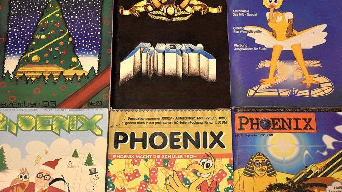 In den goldenen 1990ern hatte die Schülerzeitung Phoenix traumhaft hohe Auflagen - die dennoch schnell nahezu ausverkauft waren (Foto: Martin Dühning)