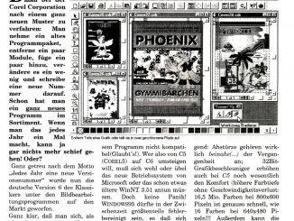 Technischer Wandel bei der Schülerzeitung: In den 1990er Jahren setzte sich DTP-Software für die Layoutarbeit durch.
