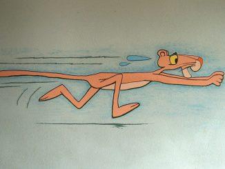 Das Skandalon von Raum 304 (heute 204) - ein rosa Panthertier