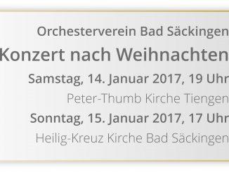 Niarts Miniplakat zum Orchesterkonzert nach Weihnachten