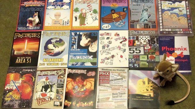 In den Jahren 2003-2013 kamen die Ausgaben 45-61 heraus (Foto: Martin Dühning)