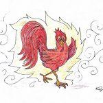 Der rote Hahn brennt alles nieder...