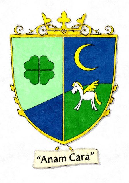 Wappen von Luisa Amiratu, der 23. Vizekönigin der Vereinigten Provinzen von Süd-Ninda (Grafik: Nitramica Arts)