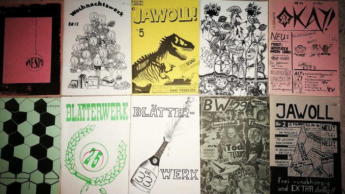 Zu den bei Renovierungsarbeiten gefundenen Schülerzeitungen gehören HGWT-Schriften, die bislang nur aus Legenden bekannt waren. Nun liegen sie schriftlich vor. (Foto: Martin Dühning)
