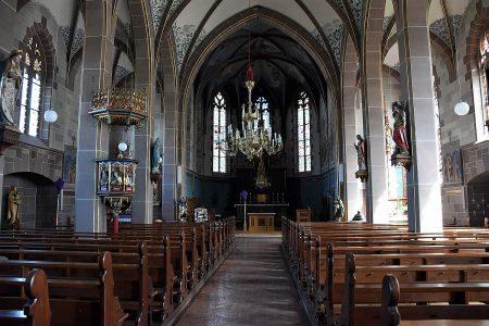Blick zum Altar von St. Peter und Paul (Foto: Martin Dühning)