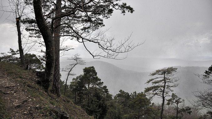 Schroffe Natur in einer kalten Zeit (Foto: Martin Dühning)