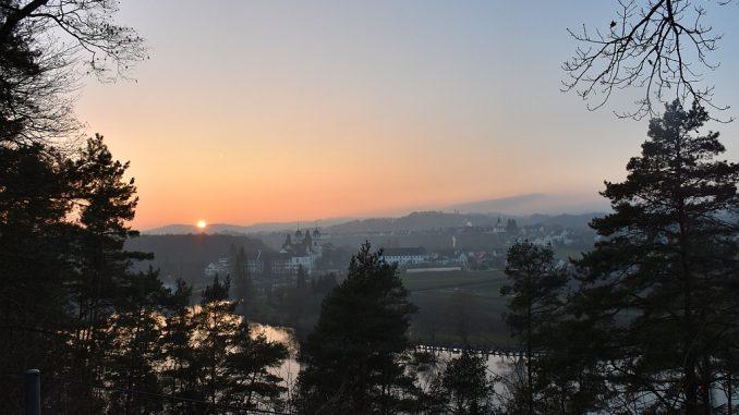 Dämmerung am 1. Januar 2017 (Foto: Martin Dühning)