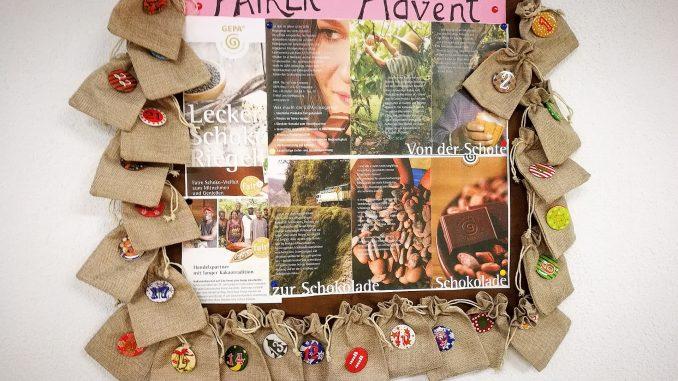 Adventliche Info in der dritten Adventswoche (Foto und Gestaltung: Martin Dühning)