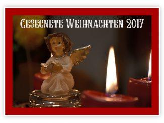 Gesegnete Weihnachten 2017 (Foto: Martin Dühning)