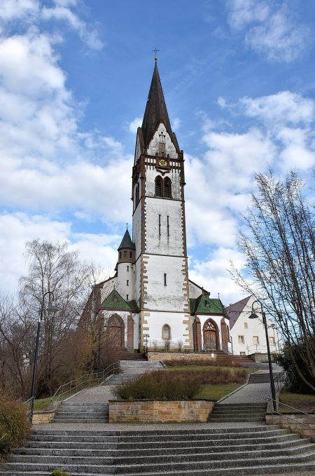 Die Kirche St. Peter & Paul am 25. März 2018 (Foto: Martin Dühning)