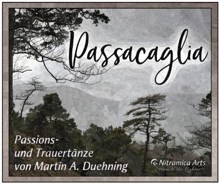 "Cover zum Album ""Passacaglia"" (2018, Grafik: Martin Dühning)"