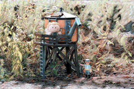 Neue Wassertürme helfen gegen die frappierende Dürre nur begrenzt (Foto: Rosa Dudelspru)