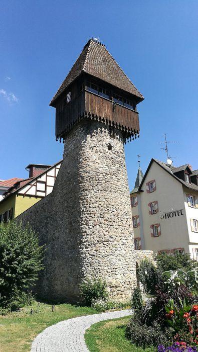 Der Storchenturm in Tiengen (Foto: Martin Dühning)