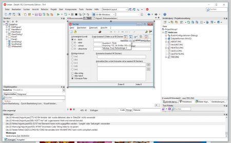 TinDat für Quizzy in der aktuellen Community Edition von Delphi (10.2.3) - wie gewohnt lässt sich das Programm in der neuen Variante natürlich nicht so ohne Weiteres compilieren.