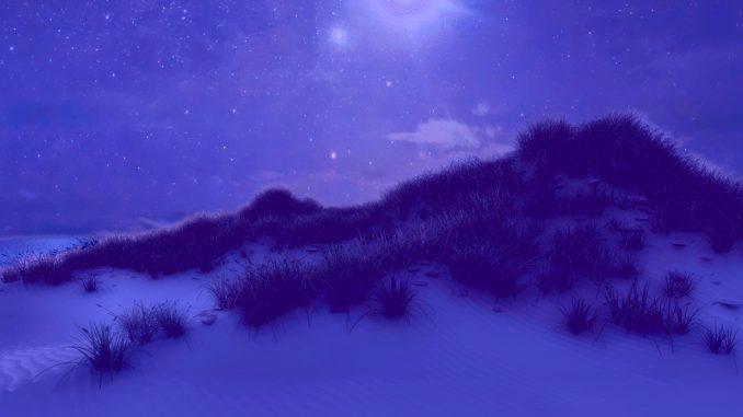 Sternklare nach in Aurynas Dras (Grafik: Martin Dühning)